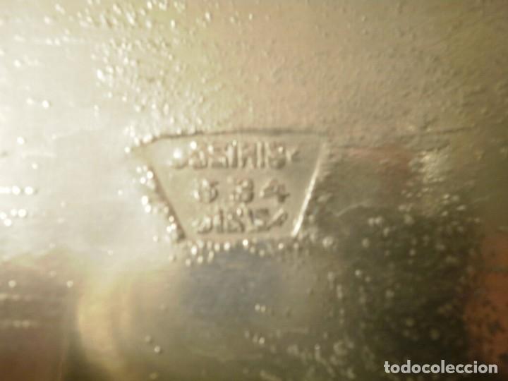 Antigüedades: GRAN BANDEJA MODERNISTA DE PELTRE - Foto 6 - 149371238