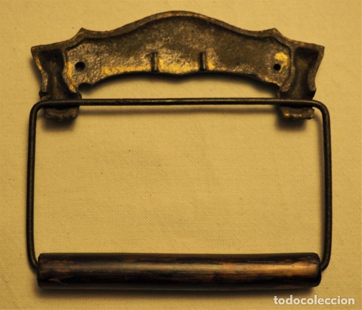 Antigüedades: PORTARROLLOS W.C. A.P.W. PAPER. CO. - ALBANY. N.Y. U.S.A. TOILET PAPER HOLDER - Foto 4 - 149374918