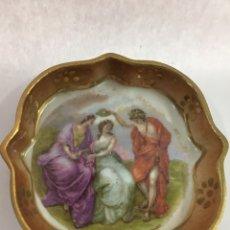 Antigüedades: ANGELICA KAUFFMAN PLATO PORCELANA LIMOGES. Lote 149379329