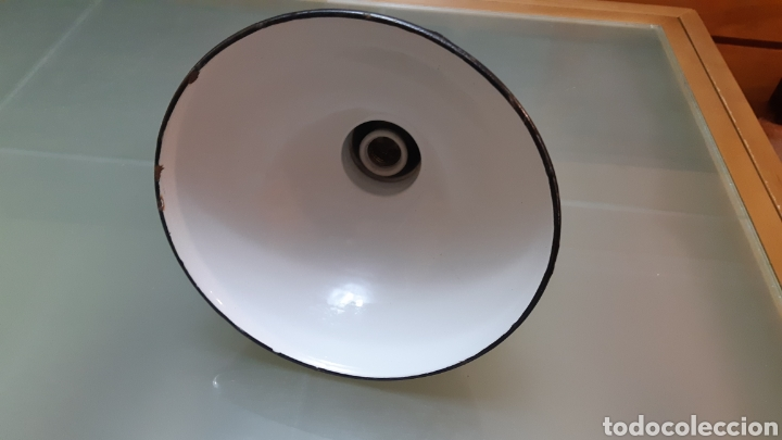 Antigüedades: Lampara techo industrial - Foto 3 - 149389486