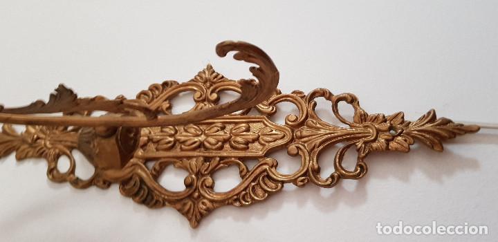 Antigüedades: APLIQUES DE BRONCE - Foto 6 - 149395670