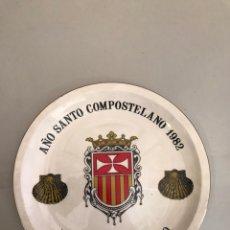 Antigüedades: ANTIGUO PLATO MONASTERIO DE POYO. Lote 149397906