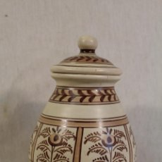 Antigüedades: TARRO EN CERAMICA LA MENORA DE TALAVERA. Lote 149422630