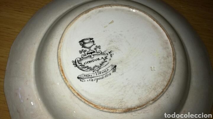 Antigüedades: Plato hondo de sargadelos negro - Foto 5 - 149433045