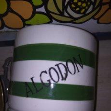 Antigüedades: BOTE ALGODON. Lote 149443666