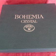 Antigüedades: CRISTAL BOHEMIA JUEGO WHISKY. Lote 149481324