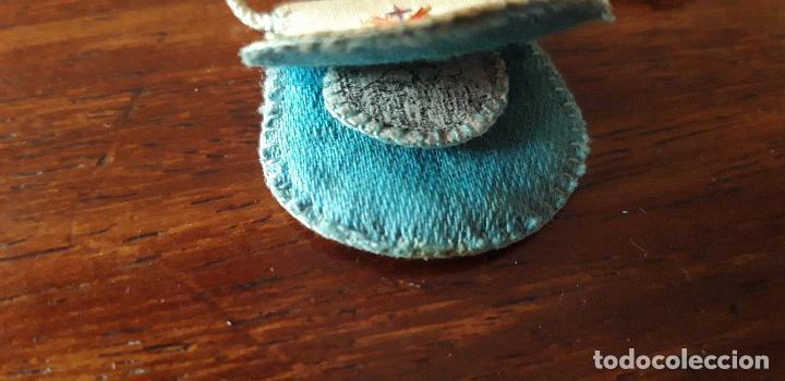 Antigüedades: Escapulario bordado - Foto 4 - 149493698