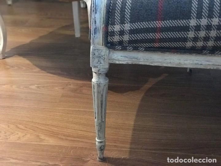 Antigüedades: Sofá antiguo completamente restaurado - Foto 8 - 149502546