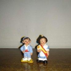 Antigüedades: ANTIGUAS FIGURAS DE ALBOROX - TRAJES TRADICIONALES DE ESPAÑA - VER FOTOS. Lote 149536630