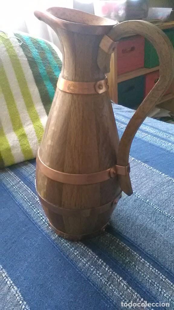 JARRA MADERA, CASTELLAR DEL VALLES (Antigüedades - Técnicas - Rústicas - Utensilios del Hogar)