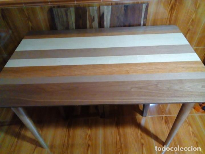 bonita mesa de madera de cocina-comedor - Kaufen Antike Tische in ...