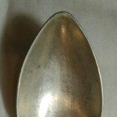 Antigüedades: CUCHARA DE PLATA. CONTRASTE - P. ÁLVAREZ - S. XIX. PESO 23 GR.. Lote 149588022