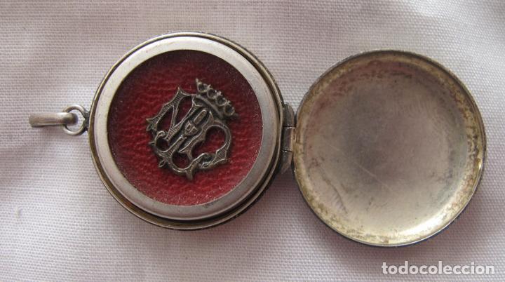 Antigüedades: RELICARIO N. S. DE LOURDES ANTIGUO - Foto 2 - 149603754
