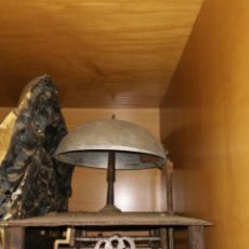 Antigüedades: CAMPANA GRANDE BRONCE 12 CM DIAMETRO RELOJ MOREZ. Lote 149607238