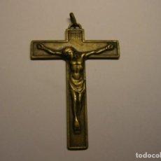 Antigüedades: CRUCIFIJO DE BRONCE... Lote 149637886