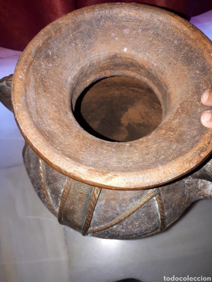 Antigüedades: Antigua Tinaja orza cantaro de barro - Foto 5 - 149673220