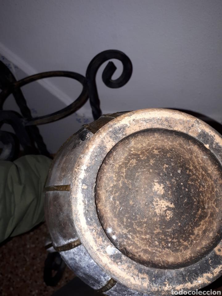 Antigüedades: Antigua Tinaja orza cantaro de barro - Foto 6 - 149673220