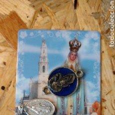 Antigüedades: LOTE MEDALLAS RELIGIOSAS. Lote 149686829
