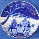 Antigüedades: PLATO DECORATIVO SANTA CLARA - EDICIÓN NAVIDAD 1989. Lote 160281761