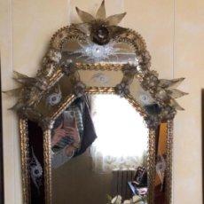 Antigüedades: ESPEJO VENECIANO. Lote 149707486