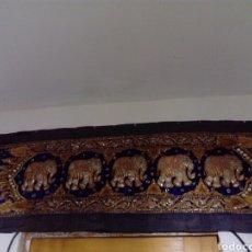 Antigüedades: TAPIZ BORDADO GRANDE. Lote 149730854