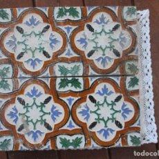 Antigüedades: PAREJA AULEJOS DE TRIANA. Lote 149749834