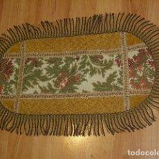 Antigüedades: ANTIGUO TAPETE PASAMANERIA.. Lote 149759054