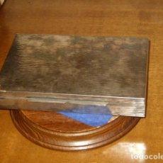 Antigüedades: ANTIGUA CAJA DE ALPACA DE JOYERIA,CON CONTRASTE.. Lote 149759226