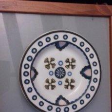 Antigüedades: BIDASOA PORCELANA LÍNEA AVANTE PLATO HONDO DECORADO GRAN FUEGO MADE IN SPAIN. Lote 149782318