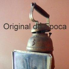 Antigüedades: (JX-190207) ANTIGUO FAROL,LINTERNA DE SERENO DE BARCELONA,POLICÍA NOCTURNA,VIGILANTE.. Lote 149837858