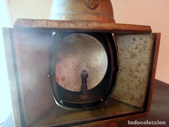 Antigüedades: (JX-190207) Antiguo farol,linterna de Sereno de Barcelona,Policía Nocturna,Vigilante. - Foto 5 - 149837858