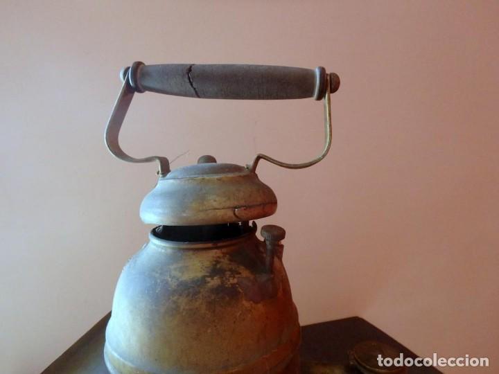 Antigüedades: (JX-190207) Antiguo farol,linterna de Sereno de Barcelona,Policía Nocturna,Vigilante. - Foto 6 - 149837858