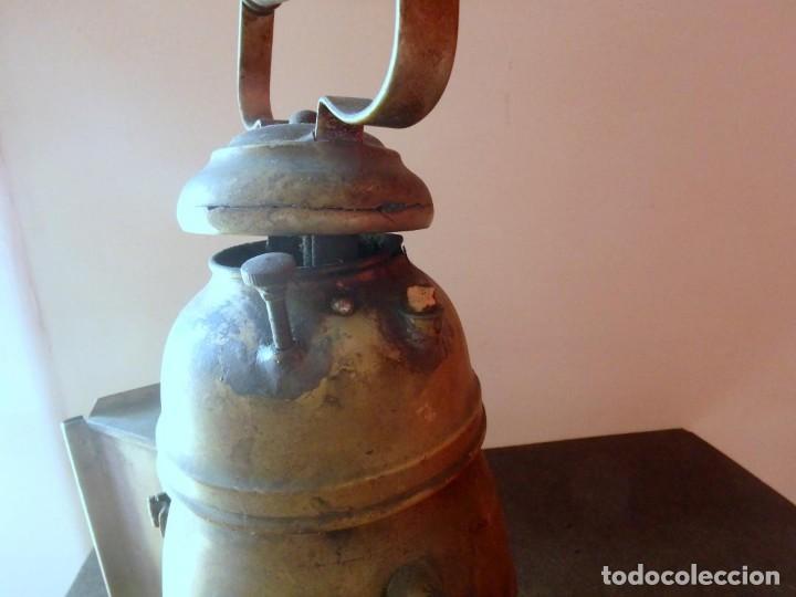 Antigüedades: (JX-190207) Antiguo farol,linterna de Sereno de Barcelona,Policía Nocturna,Vigilante. - Foto 7 - 149837858