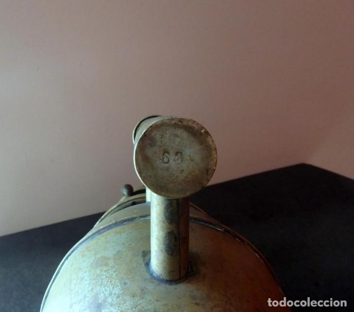 Antigüedades: (JX-190207) Antiguo farol,linterna de Sereno de Barcelona,Policía Nocturna,Vigilante. - Foto 10 - 149837858