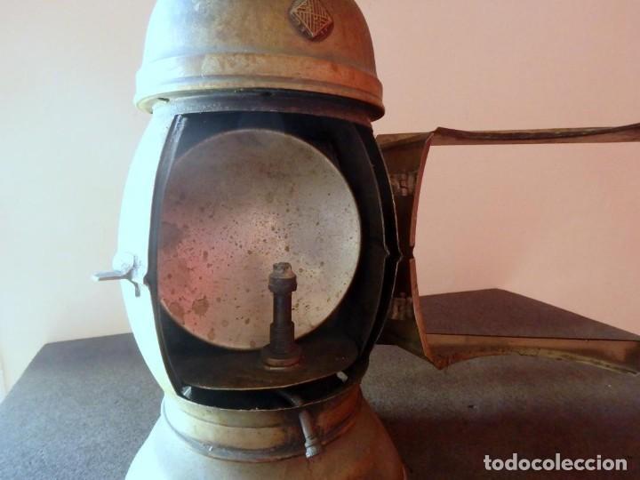 Antigüedades: (JX-190207) Antiguo farol,linterna de Sereno de Barcelona,Policía Nocturna,Vigilante. - Foto 13 - 149837858
