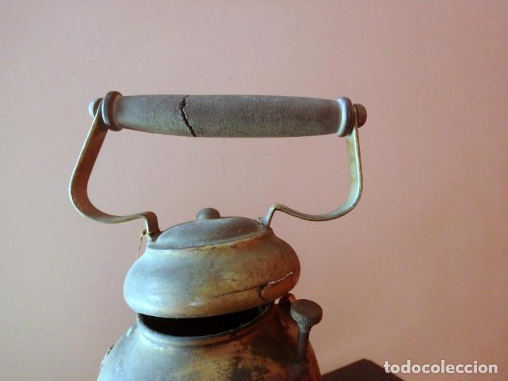 Antigüedades: (JX-190207) Antiguo farol,linterna de Sereno de Barcelona,Policía Nocturna,Vigilante. - Foto 21 - 149837858