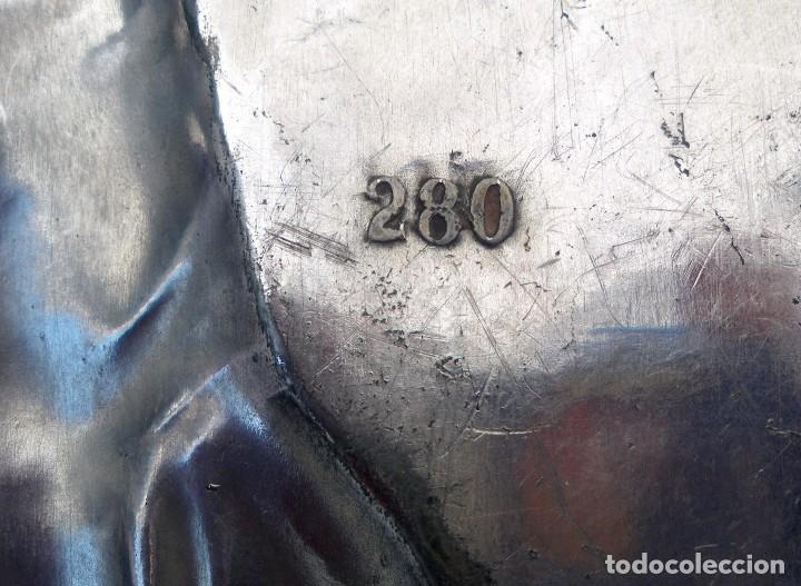 Antigüedades: Bandeja WMF. Pieza nº 280 del catálogo de 1906 Art Nouveau con marcajes - Foto 3 - 154177102
