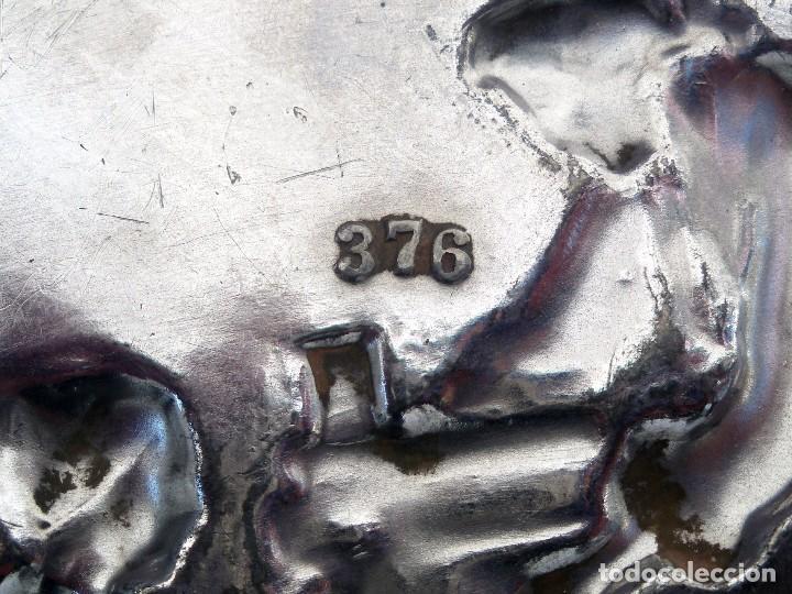 Antigüedades: Bandeja WMF. Pieza nº 376 del catálogo de 1906 Art Nouveau - Foto 3 - 149839286