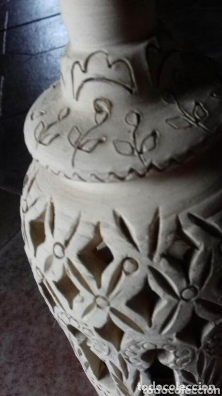 Antigüedades: antigua ceramica arabica comprada en un zoco tunez año 80 no usado - Foto 2 - 149852474