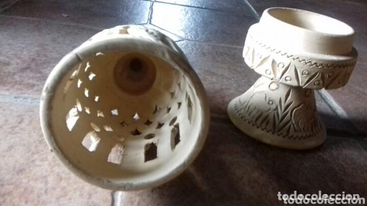Antigüedades: antigua ceramica arabica comprada en un zoco tunez año 80 no usado - Foto 5 - 149852474