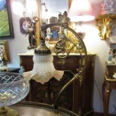 Antigüedades: PRECIOSA PAREJA DE LAMPARAS. Lote 149854978