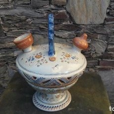 Antigüedades: BOTIJO DE CERÁMICA TALAVERA. Lote 149864306