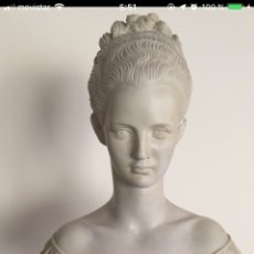 Antigüedades: BUSTO DE MUJER. Lote 149907613