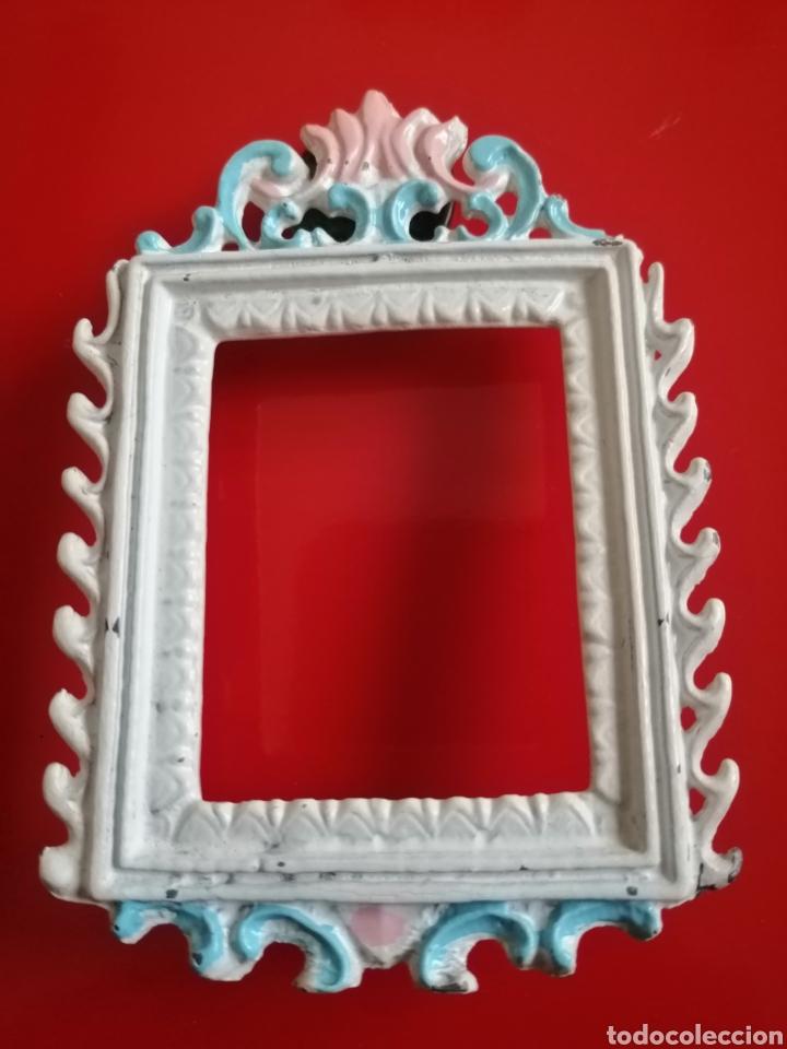 Antigüedades: Marquito metálico - Foto 2 - 149933674