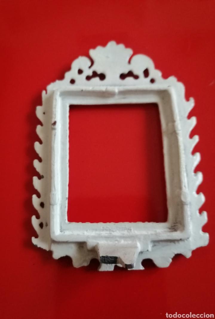 Antigüedades: Marquito metálico - Foto 4 - 149933674