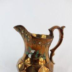 Antigüedades: JARRA DE BRISTOL ANTIGUA LUSTRE S XIX PERFECTO ESTADO. Lote 149941282