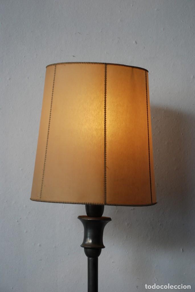 Antigüedades: ANTIGUA LAMPARA DE PIE - Foto 3 - 149956978