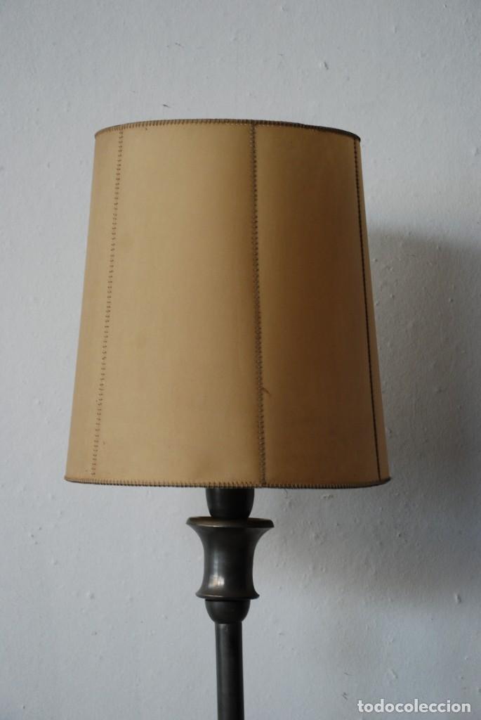 Antigüedades: ANTIGUA LAMPARA DE PIE - Foto 5 - 149956978