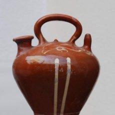 Antigüedades: BOTIJO DECORADO - LA BISBAL. Lote 149969802