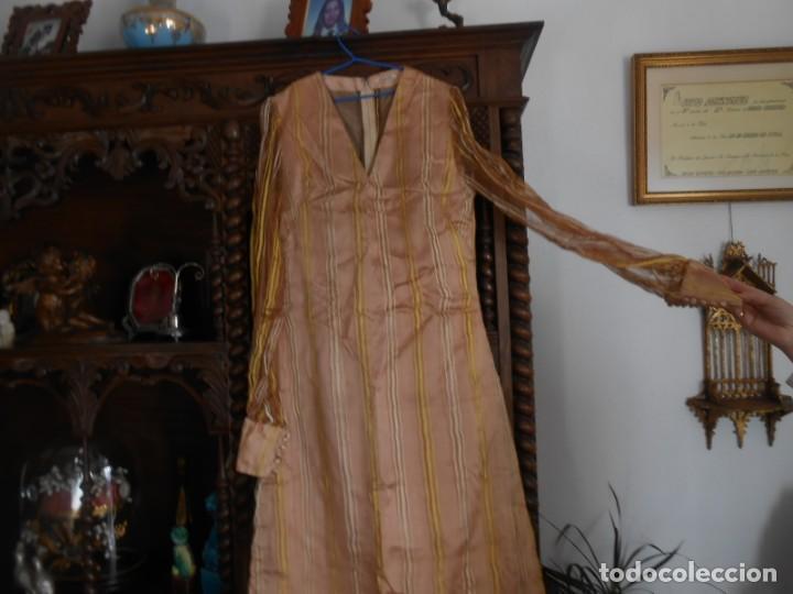Antigüedades: VESTIDO DE MUJER ANTIGUO AÑOS SESENTA/SETENTA - Foto 2 - 149983430